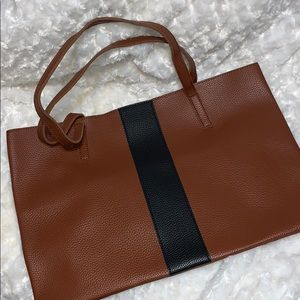 Brown Vince Camuto tote bag
